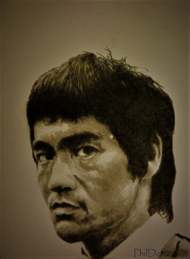Bruce Lee by Phildef